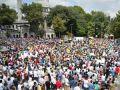 Mısır Katliamı Eyüpte Protesto Edildi