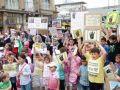 Almanya'da Mısır ve Suriye Direnişine Destek Eylemleri
