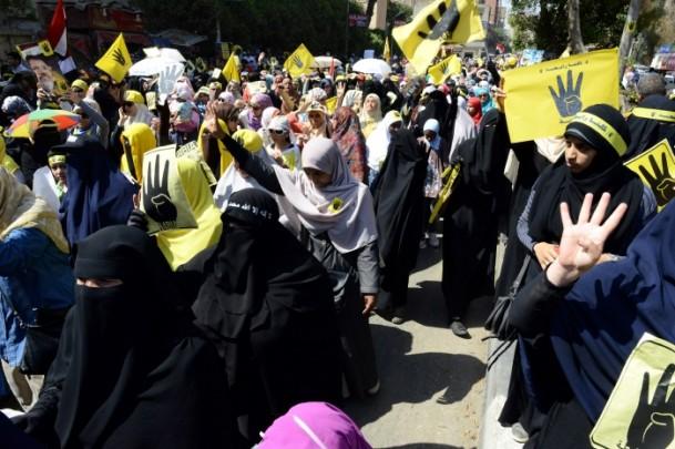 """Mısır'da """"Şehitlerin Kanına Vefa"""" Gösterileri 1"""