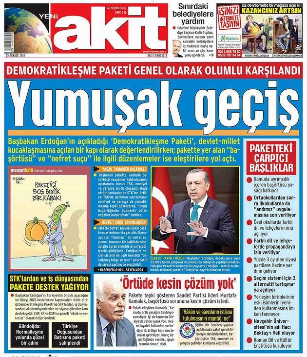 Manşetlerde Demokratikleşme Paketi galerisi resim 1