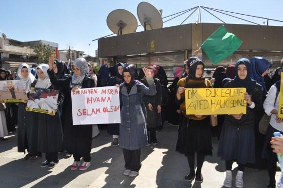 100. Gününde Mısır Cuntası Diyarbakır'da Lanetlendi 1