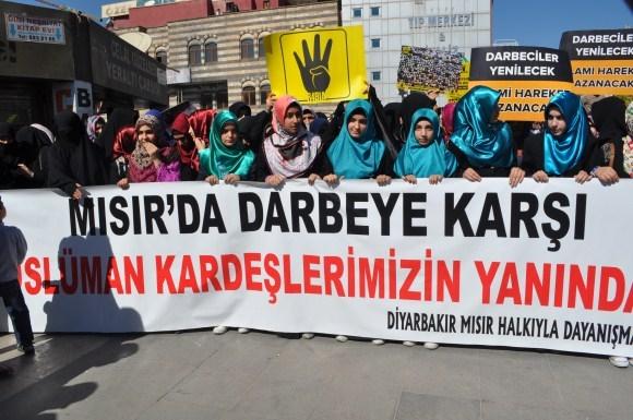 100. Gününde Mısır Cuntası Diyarbakır'da Lanetlendi 2