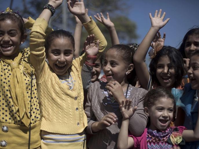 Gazze'de Çocukların Kurban Bayramı Sevinçleri 1
