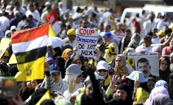 Mısır'da Darbe Karşıtı Gösteriler Devam Ediyor galerisi resim 1