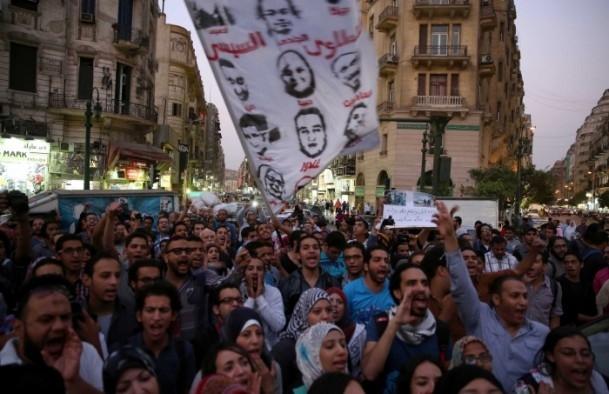 "Mısır'da ""Gösteri Kanunu'na"" Karşı Gösteri galerisi resim 1"