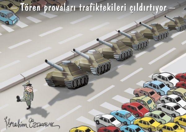 Tören Provoları Trafiktekileri Çıldırtıyor! 1