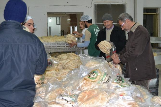 Amasya'dan Yola Çıkan Yardımlar Suriye'ye Ulaştı 1