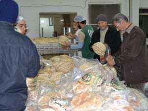Amasya'dan Yola Çıkan Yardımlar Suriye'ye Ulaştı