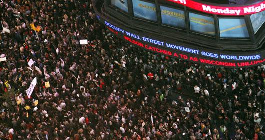 Wall Streeti İşgal Et Ateşi Batıyı Sarıyor 13