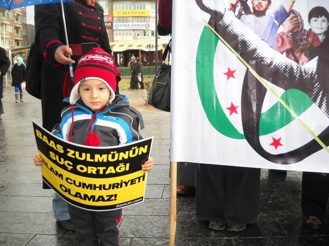 Sivas'ta Suriye, Mısır ve Filistin İçin Eylem 1