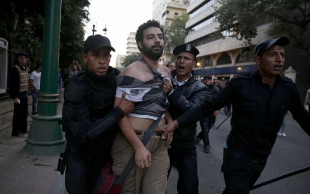 Mısır'da Yeni Gösteri Yasası Protesto Edildi 1