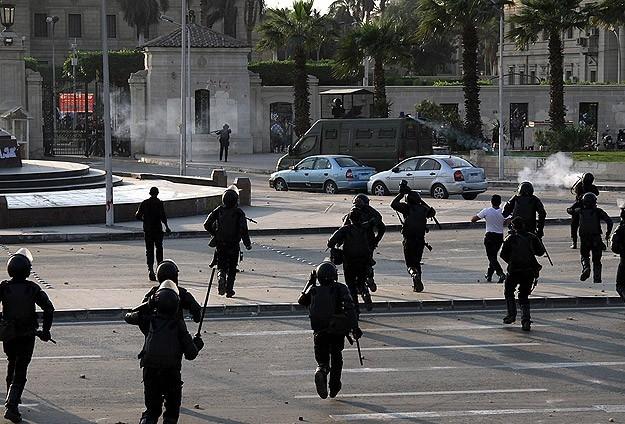 """""""Sabah 7 Hareketi"""" Protestolarına Polis Müdahalesi 1"""