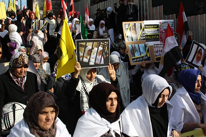 Suriye, Mısır ve Filistin İçin Yürüdüler 1