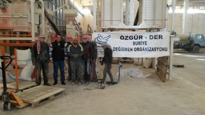 Özgür-Der, Rakka ve İdlip'te İki Değirmen Açtı 1