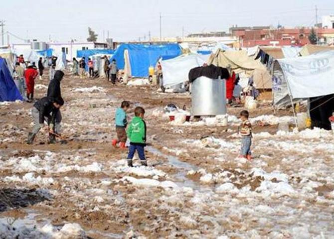 Suriye'ye Kış Geldi! 1