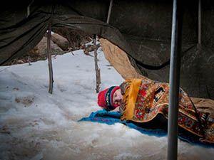 Suriye'ye Kış Geldi!