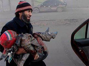 Esed, Varil Bombalarıyla Halep'i Yıktı