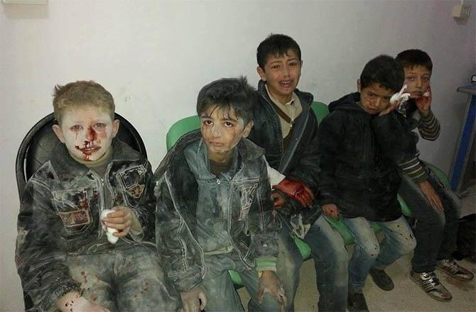 Halep'te Varil Katliamı Devam Ediyor! 1