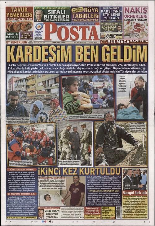 Gazete Manşetleri - 25 Ekim 2011 12