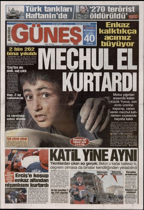 Gazete Manşetleri - 25 Ekim 2011 7