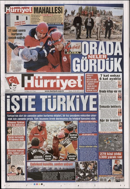 Gazete Manşetleri - 25 Ekim 2011 9