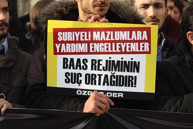 İşkenceci Baas Cuntası Fatih'te Protesto Edildi 1