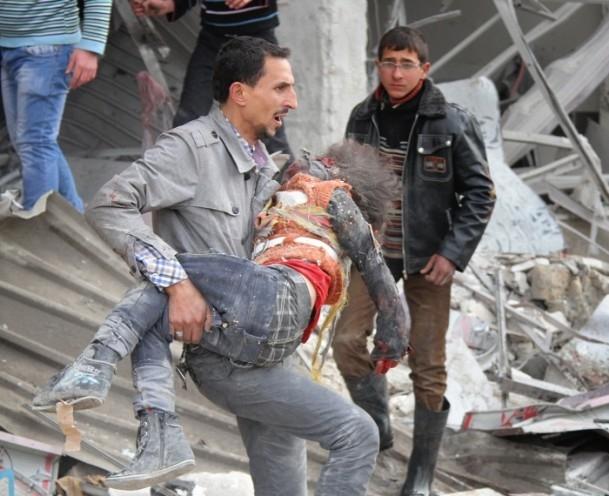 Esed Halep'i Yine bombaladı galerisi resim 1