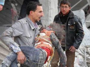 Esed Halep'i Yine bombaladı
