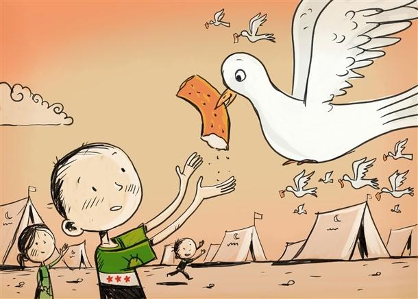 Suriyeli Çocuklar Aç! / Osman Turhan galerisi resim 1