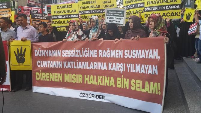 Mısır Cuntasının İdam Kararları Diyarbakır'da Kınandı 1