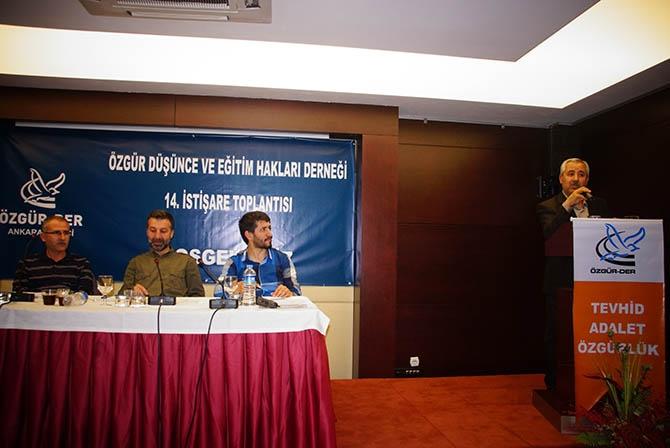 Özgür-Der Genel İstişare Toplantısı Ankara'da Yapıldı! 1