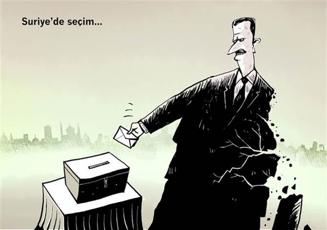 Suriye'de Seçim 1