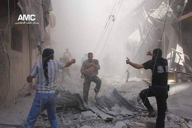 """Suriye'den """"Seçim"""" Manzaraları! 1"""
