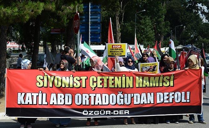 İsrail'in Hamisi ABD, İstanbul'da Telin Edildi 1