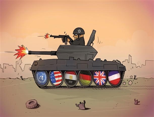 Siyonistler ve İşbirlikçileri Gazze'yi Katletti - Osman Turhan 1