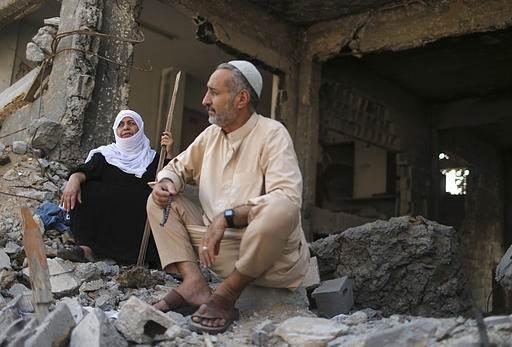 Ateşkesten Sonra Gazze Görüntüleri 1