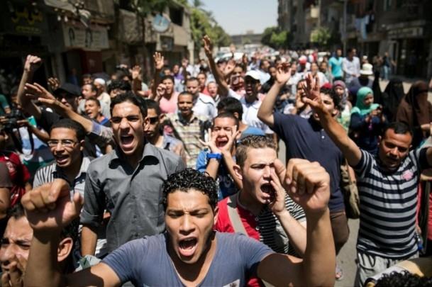 Mısır'da 14 Ağustos Dünya Rabia Günü gösterileri 1
