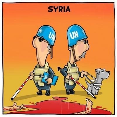 BM (UN) ve Suriye'deki Gözlemciliği galerisi resim 1