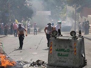 Doğu Kudüs'te Filistinliler Sokağa Döküldü