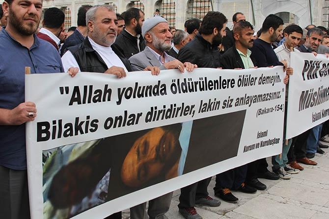 Katledilen Müslümanlar İçin Gıyabi Cenaze Namazı 1