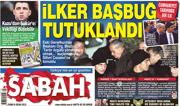 Başbuğun Tutuklanması Manşetlere Böyle Yansıdı 10