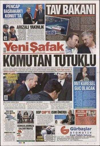Başbuğun Tutuklanması Manşetlere Böyle Yansıdı 16