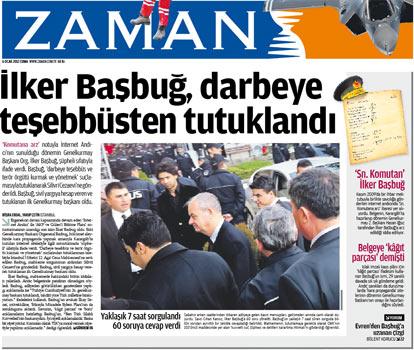 Başbuğun Tutuklanması Manşetlere Böyle Yansıdı 17
