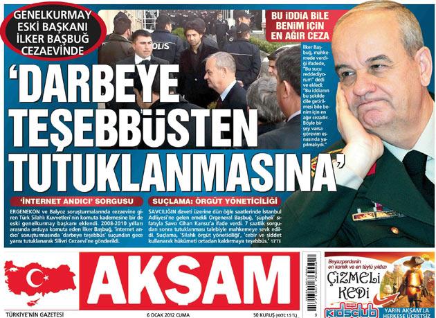 Başbuğun Tutuklanması Manşetlere Böyle Yansıdı 2