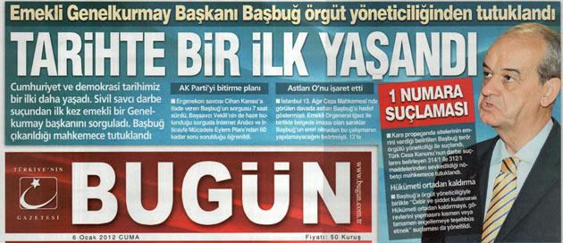 Başbuğun Tutuklanması Manşetlere Böyle Yansıdı 3