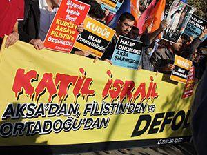 İstanbul Saraçhane'de Mescidi Aksa Eylemi