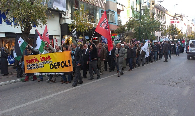 Bursa'da Siyonist İşgalciler Tel'in Edildi 1