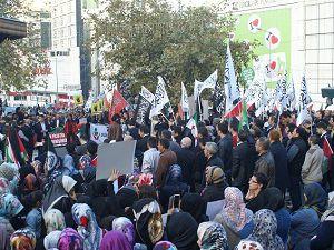 Bursa'da Siyonist İşgalciler Tel'in Edildi
