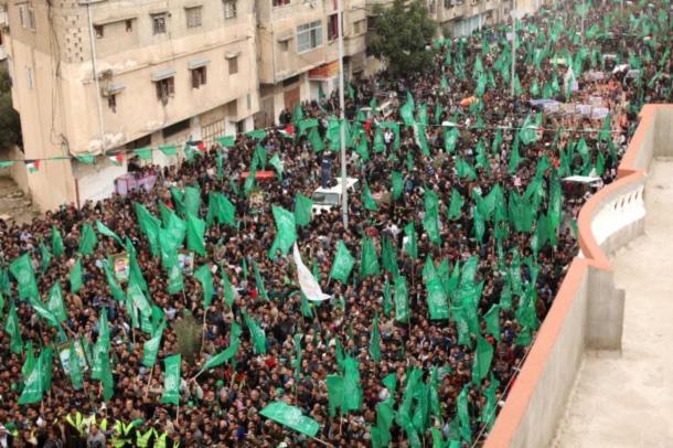 Hamas'ın Kuruluşunun 27. Yılından Kareler 1