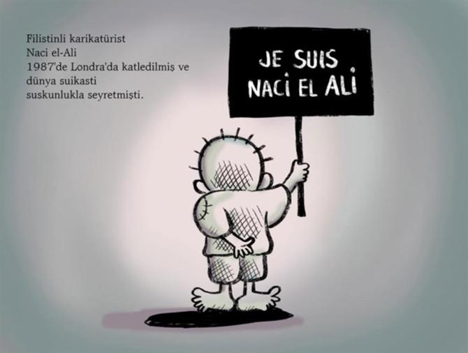 Je Suis Naci el-Ali, Osman Turhan 1